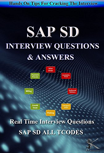 SAP SD INTERVIEW QUESTIONS & ANSWERS: Hands On Tips For Cracking The