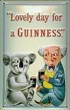 Blechschild Nostalgieschild Guinness Koala Bier Schild Reklame Werbeschild