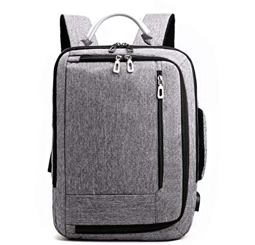 leader Rucksack Computertasche Schulranzen USB Male Rucksack Anti-Diebstahl Paket, atmungsaktiv verschleißfest und stoßfest -