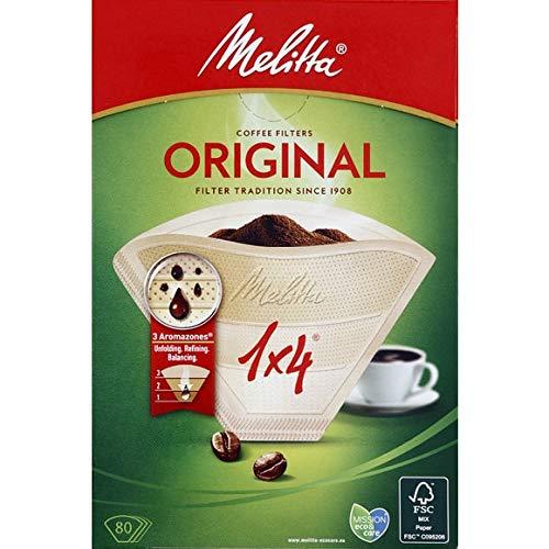 Melitta - Filterkaffee (1: 4) - 80 Filter - Lot Von 3 - Pro Einheit - Schnelle Lieferung