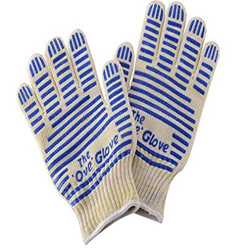 Eletam Hochtemperatur-Anti-Blockier-System Verschlei?Feste Baumwoll-Handschuhe für Grill Mikrowelle