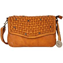 KOMPANERO Yellow Ladies Sling Bag (Zoya)