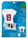 Sigel IP651 Tintenstrahldrucker Transfer-Folien für helle Stoffe/T-Shirts, 10 Blatt A4