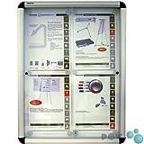 POV® Schaukasten X-tra! Line, mit Schiebetür, für Innen, 70 x 3 x 96 cm