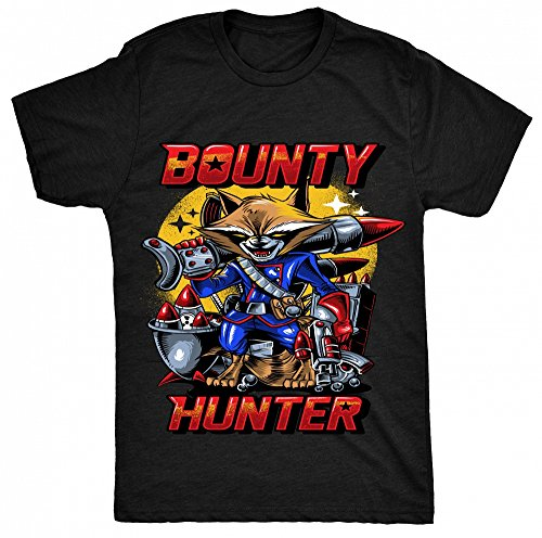 8TN Bounty Hunter Unisex - Kinder T Shirt - Schwarz - 12-13 Jahre