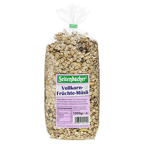 Seitenbacher Vollkorn Früchte Müsli, 1 kg