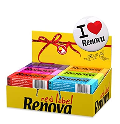 Renova Coloured Scented Facial Tissues Colour Mix Extravaganza