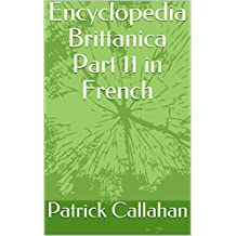 Encyclopedia Brittanica Part 11 in French