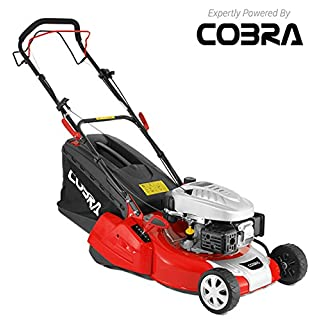 Cobra 135cc 46cm Petrol Self Propelled Roller Mower