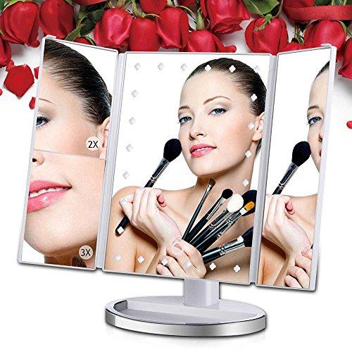 [Regalo Perfecto] Espejo Maquillaje Cosmético Plegable