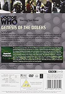 Doctor Who: Genesis of the Daleks [DVD] [1975]