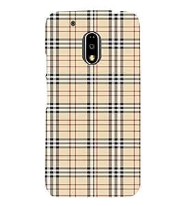 Checks Pattern 3D Hard Polycarbonate Designer Back Case Cover for Motorola Moto G4 Plus :: Moto G4+ :: Moto G4