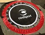 Trampolino Professionale di Jill Cooper 122 cm - Richiudibile - Omaggio 2 DVD! Perfetto per personal trainer (Rebounder)