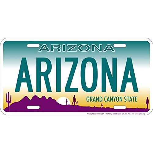 Arizona Garten (Schilder 4Fun az-Arizona, License Plate)