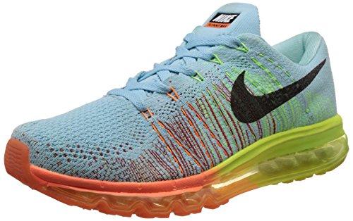 Nike Men's Flyknit Air Max Blue Running Shoes -7 UK/India (41 EU)(8 US)