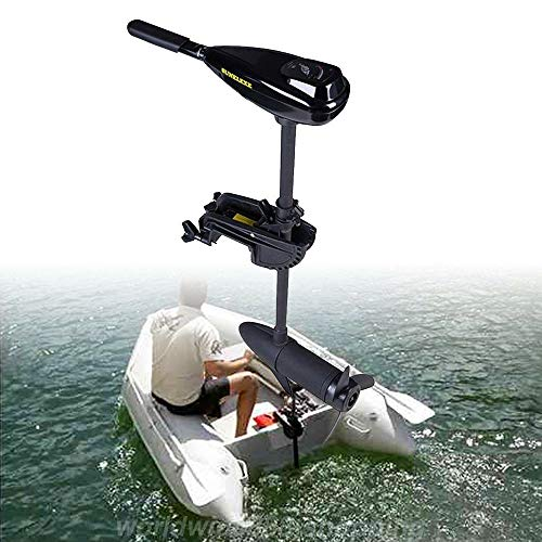 FLYHERO Außenborder Elektromotor Aufblasbares Fischerboot £ 12V DHL/Außenborder Elektromotor Für Schlauchboot mit 58 LBS 12V DHL