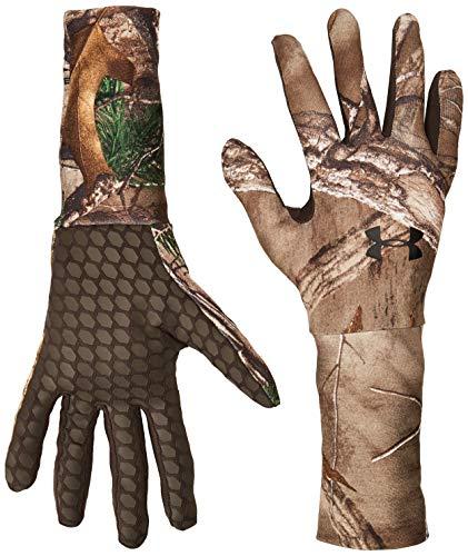 Under Armour Herren ColdGear Camo Liner Handschuhe, Herren, Realtree Ap-Xtra (947)/Black, Large Camo Handschuhe
