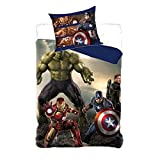 Marvel Avengers Bettwäsche Set 140x200cm 710-115
