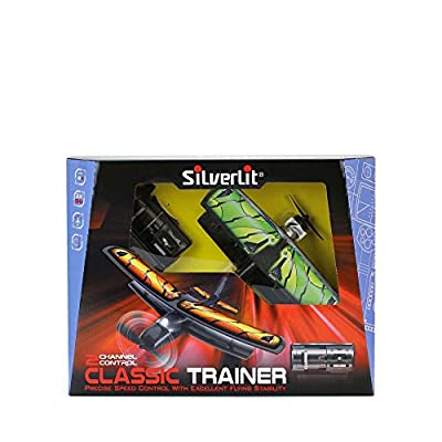 2.4 Ghz 2-Channel X-Twin Classic Trainer Radio Control Biplane (Multi-Colour)
