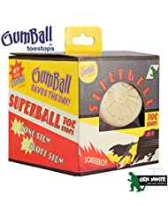 Gumball Superball orteils Stop–Naturel. 17mm court (Paire)