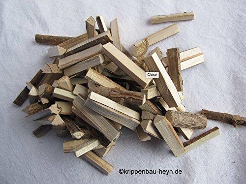Preisvergleich Produktbild Brennholz-Scheite 3 cm für den Krippenbau / Modellbau