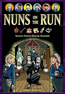Mayfair Games MFG4117 - Brettspiel, Nuns on the Run, Englisch
