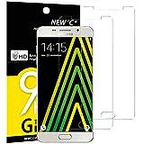 NEW'C Verre Trempé pour Samsung Galaxy A5 2016 (SM-A510),[Pack de 2] Film Protection écran - Anti Rayures - sans Bulles d'air -Ultra Résistant (0,33mm HD Ultra Transparent) Dureté 9H Glass