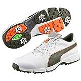 Puma , Herren Golfschuhe, weiß - White/Forest - Größe: 43 EU