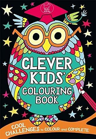 clever kids colouring book - Kids Colouring Book