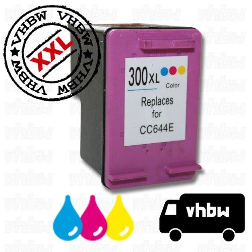 Cartuccia rigenerata multicolor per stampante hp photosmart c4610, c4635, c4640, c4650 ecc. compatibile con hp nr. 300