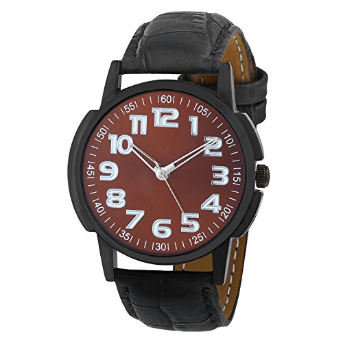 Matrix Analog Brown Dial Men's Watch-WCH-190  available at amazon for Rs.299