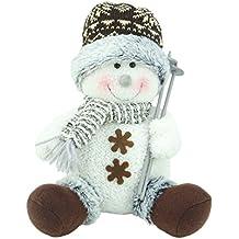 CHRISTMAS CONCEPTS® Muñeco de Nieve Winter Wonderland Decoraciones de Navidad (9