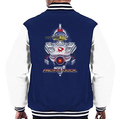 Pacific Duck Gizmoduck Duck Tales Men's Varsity Jacket
