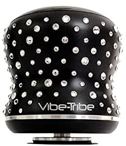 Vibe-Tribe Mamba Limited Edition - Crystals from Swarovski®: Altoparlante a Vibrazione Bluetooth 18W, Touch Panel, Vivavoce, Daisy Chain