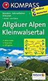 Allgäuer Alpen - Kleinwalsertal: Wanderkarte mit Aktiv Guide, Panorama, Radrouten und Skitouren. GPS-genau. 1:50000 (KOMPASS-Wanderkarten, Band 3) -