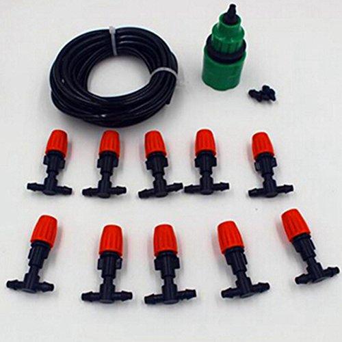 10m 4/17,8cm Micro Spray Bewässerung System Outdoor Bewässerungszubehör Equipment Bewässerung passt Garten stylischer Bewässerung Kits ^