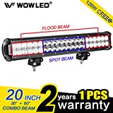 Best Off Road Su Vs - WOWLED 20 Inch 126W CREE LED Spot Flood Review