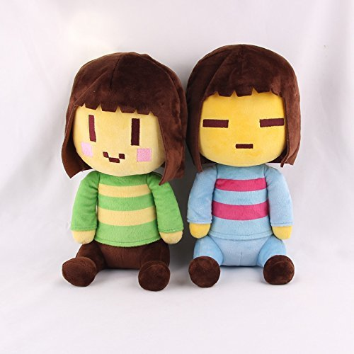 Undertale Frisk and Chara Plush Soft Toy Doll For Kids Gift