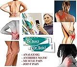 DR. BOICI CREME 60g - RHEUMATISCH, MUSKEL UND GELENK SCHMERZ; SCHNELLE RELIEF von Muskel- und Gelenkschmerzen, Tendovaginitis, Lumbago, Arthritis, Rheumatismus & Gelenkprobleme
