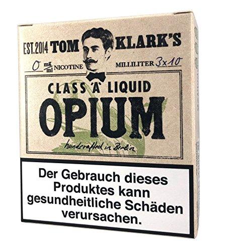 Tom Klark Premium E-Liquid, Sawyer OPIUM, 30 ml