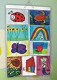 Picture Pocket PPF005 Taschen Kunst für Kinder A4, Hängen Fotogalerie, 9 Reversible