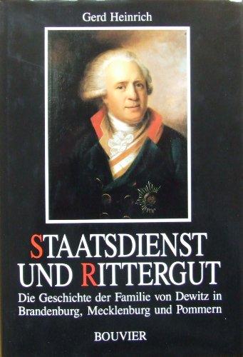 Staatsdienst und Rittergut