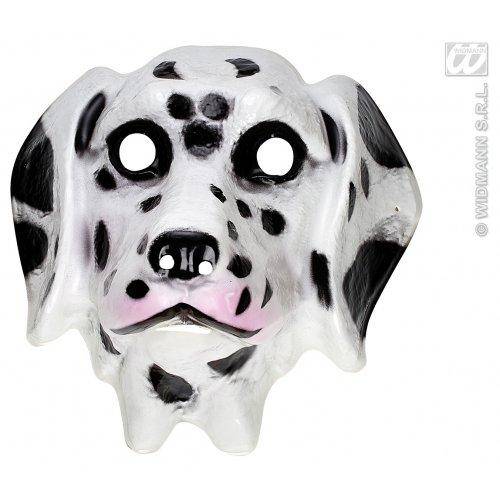 WIDMANN Kunststoff-Maske für Kinder, Dalmatiner, Masken, Augenmasken und Verkleidungen für Maskenade, - Kind 101 Dalmatiner Kostüm
