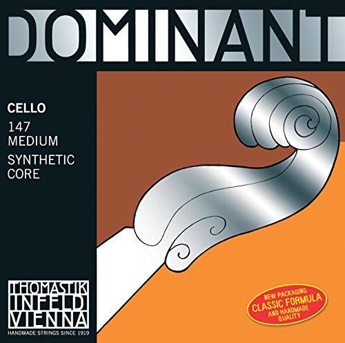 Thomastik Corda per Violoncello 4/4 Dominant - corda La nucleo nylon, rivest. cromo, media