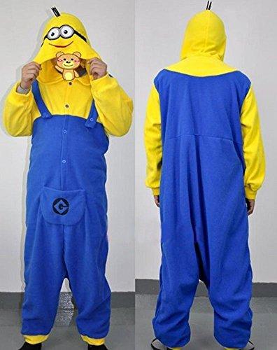 Imagen de despicable me traje de mono  adulto unisex pijama entero de súbditos o disfraz  halloween cosplay ropa m 162 171cm  alternativa