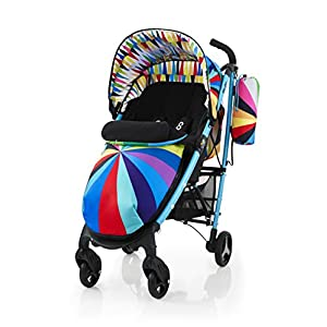 Cosatto Yo 2 Stroller, Suitable from Birth, Go Brightly GSDZSY ❀ Material: High carbon steel + ABS + rubber wheel, suitable for children from 6 months to 6 years old, maximum load 30 kg ❀ Features: The push rod can be adjusted in height, the seat can be rotated 360, the backrest can be adjusted, the baby can sit or recline; the adjustable umbrella can be used for different weather conditions ❀ Performance: high carbon steel frame, strong and strong bearing capacity; non-inflatable rubber wheel, suitable for all kinds of road conditions, good shock absorption, seat with breathable fabric, baby ride more comfortable 11