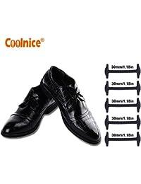 1 Paio Stringhe elastiche per scarpe sneaker lacci piatti stivale scarpe sportive 110 cm rosso