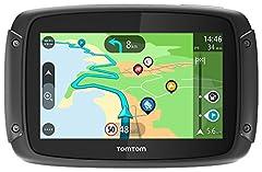 Idea Regalo - TomTom Rider 50 Navigatore per Moto, Mappe Europa 23 Paesi, Percorsi Tortuosi e Collinari Dedicati alle Moto, Aggiornamenti tramite Wi-Fi, Siri e Google Now, Traffico e Autovelox Inclusi per 3 Mesi