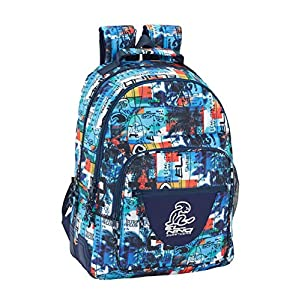 El Niño- Mochila Doble Adapt.Carro Surf 32x42x15, Color (Safta 611907773)