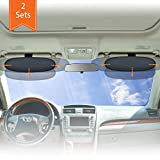 WANPOOL Anti-Blendschutz für Auto Visier Sonnenblenden Verlängerung für den Fahrer